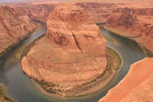 アメリカの景色/Horseshoe Bend3の写真素材 [FYI04511710]
