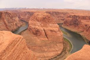 アメリカの景色/Horseshoe Bendの写真素材 [FYI04511712]