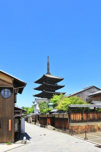 京都 法観寺八坂の塔の写真素材 [FYI04512274]