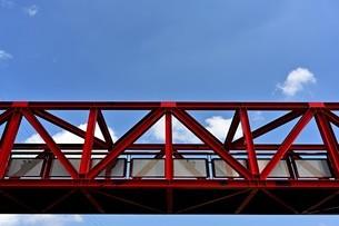 鉄橋の写真素材 [FYI04512480]