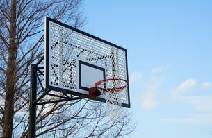 バスケットゴールの写真素材 [FYI04514075]