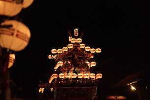 秋の高山祭の写真素材 [FYI04515127]