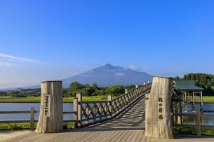 青森県 鶴の舞橋の写真素材 [FYI04515471]