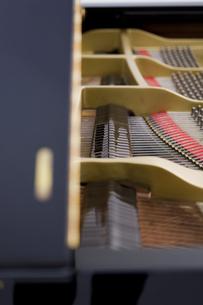 ピアノのフレームの内部の写真素材 [FYI04515472]