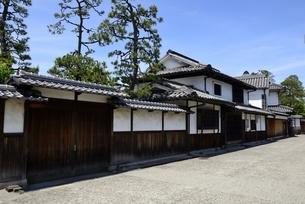 新緑,倉敷美観地区,伝統的建造物の写真素材 [FYI04515581]