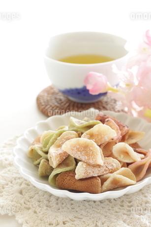 カラフルな京菓子の写真素材 [FYI04515897]
