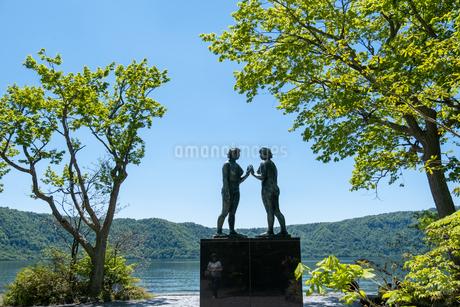 乙女の像 , 十和田湖 , 青森県の写真素材 [FYI04515919]