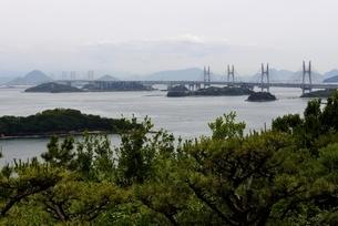 鷲羽山からの瀬戸大橋の写真素材 [FYI04516954]