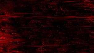 赤のホラーノイズグリッチデジタル背景素材のイラスト素材 [FYI04517103]