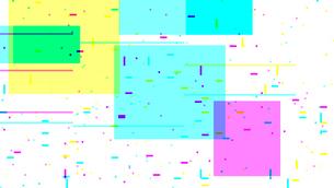 カラフルなノイズグリッチデジタル背景素材のイラスト素材 [FYI04517114]