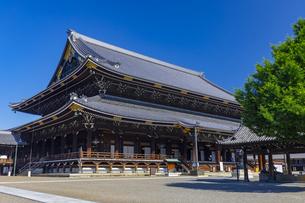 東本願寺の御影堂の写真素材 [FYI04517598]