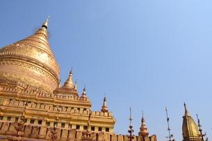 ミヤンマー、いやむしろアジア全体を代表する古都・世界遺産都市 バガンの写真素材 [FYI04517933]