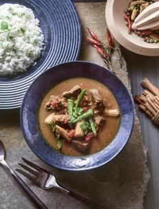 タイ風牛肉カレーの写真素材 [FYI04518177]