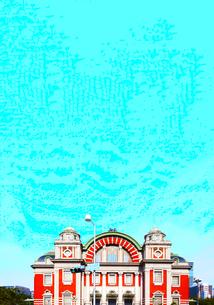 大阪市中央公会堂と空の写真素材 [FYI04519340]