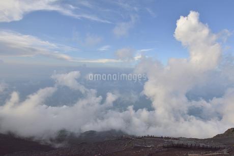 富士山から見たの自然風景の写真素材 [FYI04520632]