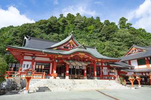 太皷谷稲成神社の写真素材 [FYI04520850]