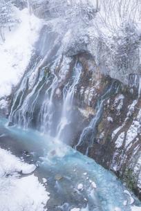 冬の白髭の滝の写真素材 [FYI04521167]