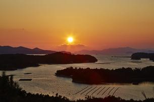 桐垣展望台から望む英虞湾の写真素材 [FYI04521670]