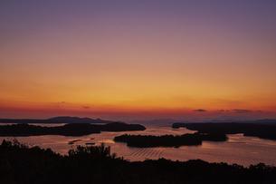 桐垣展望台から望む英虞湾の写真素材 [FYI04521685]