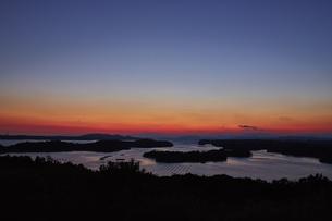 桐垣展望台から望む英虞湾の写真素材 [FYI04521686]