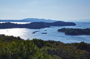 桐垣展望台から望む英虞湾の写真素材 [FYI04521729]