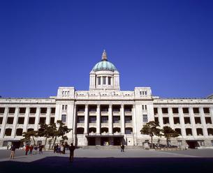 韓国 ソウル 解体前の国立中央博物館(旧朝鮮総督府)の写真素材 [FYI04521744]