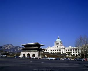 韓国 ソウル 解体前の国立中央博物館(旧朝鮮総督府)の写真素材 [FYI04521746]