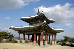 韓国 水原 華城の西将台の写真素材 [FYI04521762]