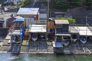 青森県 津軽の漁村の写真素材 [FYI04522519]