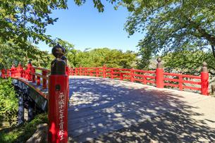 青森県 弘前公園 下乗橋 の写真素材 [FYI04522723]