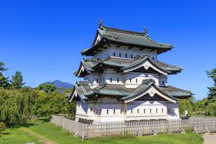 青森県 弘前公園 弘前城の写真素材 [FYI04522852]