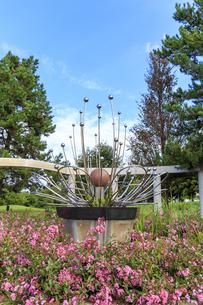 秋田県 夢と童話の里 花の神殿の写真素材 [FYI04523366]
