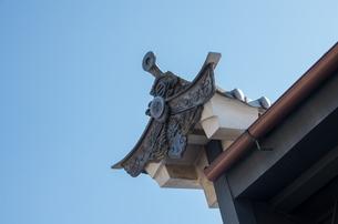 うだつの上がる町並みの写真素材 [FYI04523587]
