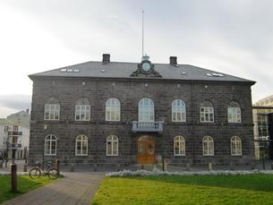 アイスランドの国会議事堂の写真素材 [FYI04523625]