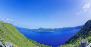 北海道 自然 風景 摩周湖の写真素材 [FYI04524201]
