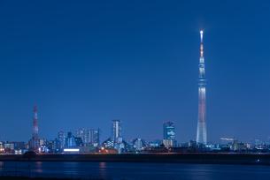 東京スカイツリー 左スペースの写真素材 [FYI04524280]