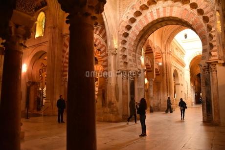 世界有数 奇跡的美しさ  メスキータ(コルドバ<スペイン>)の写真素材 [FYI04524837]