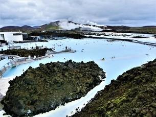 アイスランド、ブルーラグーン(温泉)の写真素材 [FYI04525640]