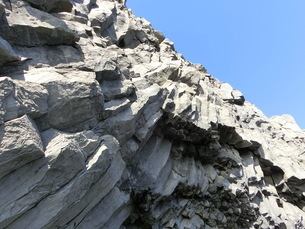 アイスランド、レイニスフィヤラビーチの写真素材 [FYI04525648]