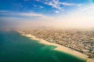ドバイ(アラブ首長国連邦)の都市風景の写真素材 [FYI04526202]
