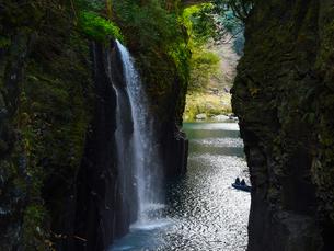 高千穂峡 真名井の滝の写真素材 [FYI04527062]