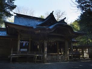 高千穂 天岩戸神社 神楽殿の写真素材 [FYI04527070]