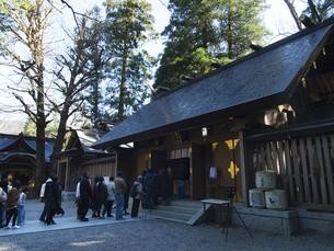 高千穂 天岩戸神社 初詣の写真素材 [FYI04527072]