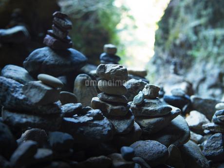 高千穂 天安河原の写真素材 [FYI04527076]