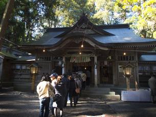 高千穂 天岩戸神社 初詣の写真素材 [FYI04527088]