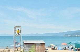 福井県の海水浴場の写真素材 [FYI04527139]