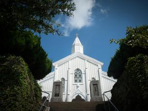 長崎県五島市 福江島 水之浦教会の写真素材 [FYI04527397]