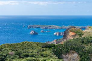 ハートロックと南島の写真素材 [FYI04527842]