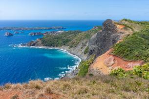 ハートロックの上から眺める南島の写真素材 [FYI04527848]