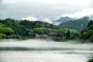 霧 橋の写真素材 [FYI04528364]